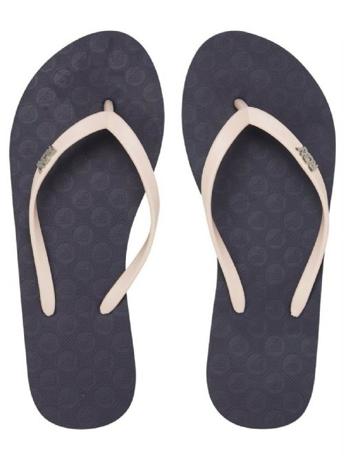 ROXY WOMENS FLIP FLOPS.NEW VIVA TONE NAVY PINK BEACH SURF THONGS SANDALS S20 82